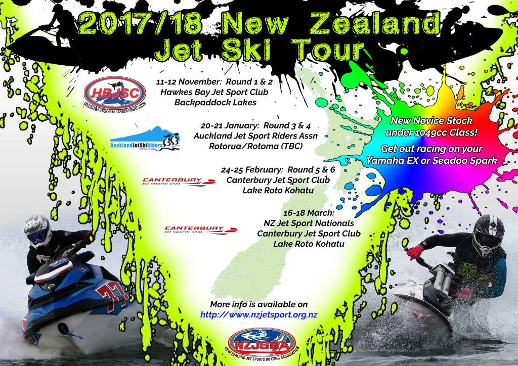 2017/18 NZ Tour Poster